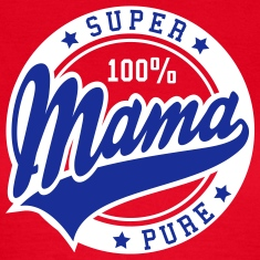 100 percent PURE SUPER MAMA 2C T-Shirt BW