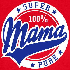 100 percent PURE SUPER MAMA 2C T-Shirt BW - Vrouwen T-shirt
