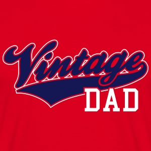 Vintage Dad Design 2 colors T-Shirt NW - Herre-T-shirt