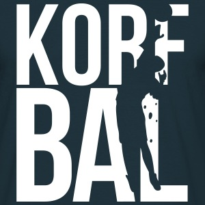 korfbal korfball T-shirts - Mannen T-shirt