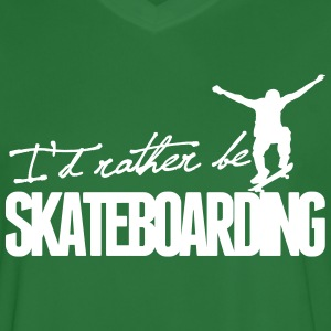I'd rather be Skateboarding Tee shirts - Maillot de football Homme