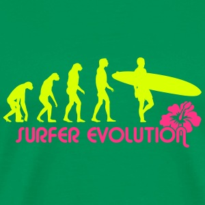 surfer evolution T-Shirts - Men's Premium T-Shirt