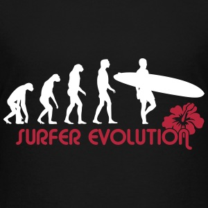 surfer evolution Shirts - Teenage Premium T-Shirt