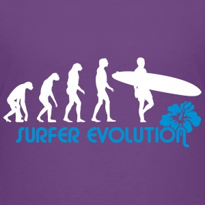 surfer evolution T-Shirts - Teenager Premium T-Shirt