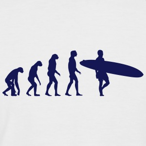 surfer evolution T-Shirts - Männer Baseball-T-Shirt