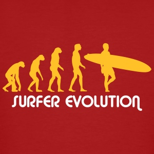 surfer evolution T-Shirts - Männer Bio-T-Shirt