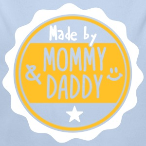 Made by Mommy and Daddy Hoodies - Longlseeve Baby Bodysuit