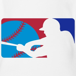 Baseball Player Sign T-Shirts - Baby Bio-Kurzarm-Body