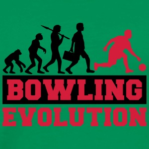 Bowling Evolution T-shirts - Herre premium T-shirt