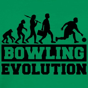 Bowling Evolution T-Shirts - Men's Premium T-Shirt