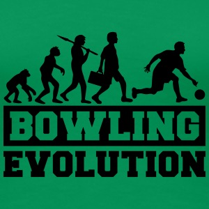 Bowling Evolution T-Shirts - Frauen Premium T-Shirt