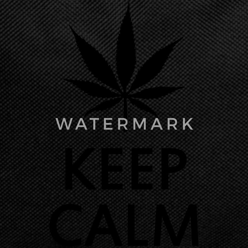 keep calm and smoke cannabis weed pot Sacs et sacs à dos - Sac à dos