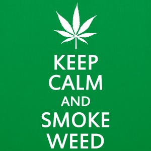 keep calm and smoke weed Bags & backpacks - Tote Bag
