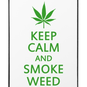 keep calm and smoke weed Coques pour portable et tablette - Coque rigide iPhone 4/4s