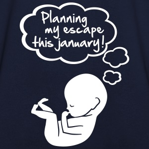 Planning my escape this january T-Shirts - Men's V-Neck T-Shirt