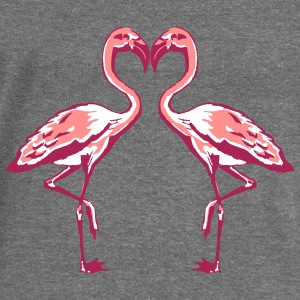 two flamingos Hoodies & Sweatshirts - Women's Boat Neck Long Sleeve Top