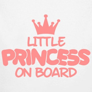 little princess on board Sweats - Body bébé bio manches longues