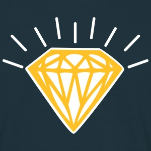 Shiny Diamond T-shirts - Mannen T-shirt