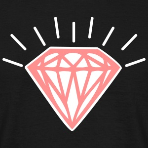 Shiny Diamond T-shirts - T-shirt herr