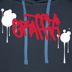 Graffiti Hoodies & Sweatshirts - Men's Premium Hoodie