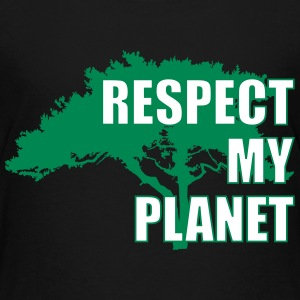 Respect My Planet T-Shirts - Kinder Premium T-Shirt