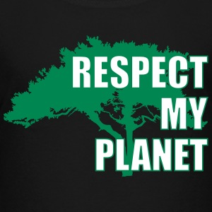 Respect My Planet Shirts - Teenage Premium T-Shirt