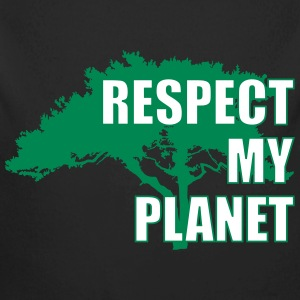Respect My Planet Hoodies - Longlseeve Baby Bodysuit