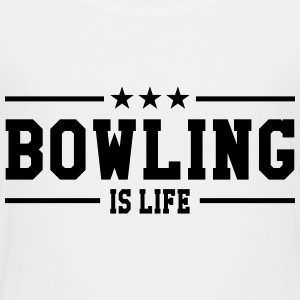 Bowling is life Shirts - Kinderen Premium T-shirt
