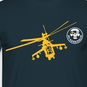 Helicopter Mi-24 T-Shirts - Men's T-Shirt