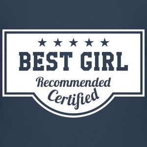 Best Girl T-shirts - Premium-T-shirt barn