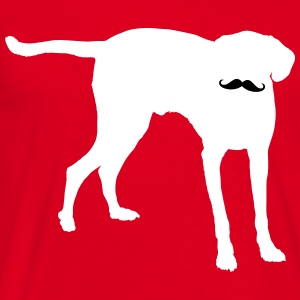 Dog Moustache T-shirts - T-shirt herr