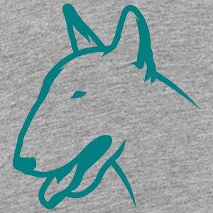 Bullterrier BULLY HEAD 1c_4light T-Shirts - Kinder Premium T-Shirt