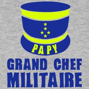 papy kepi chef militaire 1 Sweat-shirts - Sweat-shirt Homme