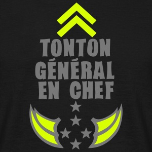 tonton general chef arme etoile 5 Tee shirts - T-shirt Homme