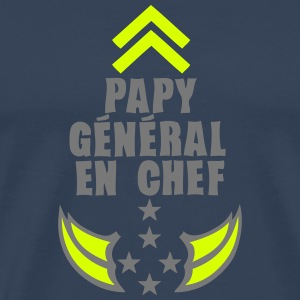 papy general chef arme etoile 5 Tee shirts - T-shirt Premium Homme