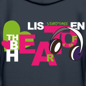 s33_beat_of_heart_2 Pullover & Hoodies - Frauen Premium Hoodie