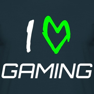 i love gaming Tee Shirt - Männer T-Shirt
