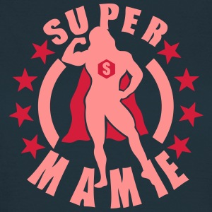 super mamie muscle bodybuilder cape hero Tee shirts - T-shirt Femme