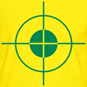 cible - target Tee shirts - T-shirt contraste Homme
