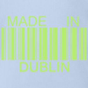 Made in Dublin Tee shirts - Body bébé bio manches courtes