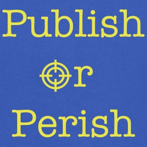 Publish Or Perish Tee shirts - T-shirt Homme col V