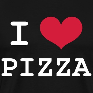 I Love Pizza T-shirts - Mannen Premium T-shirt