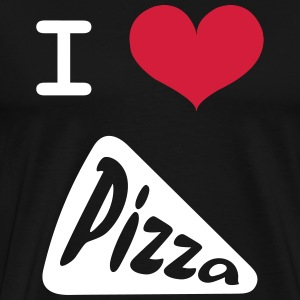 I Love Pizza T-Shirts - Men's Premium T-Shirt
