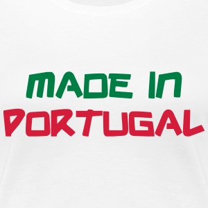 Made in Portugal T-shirts - Premium-T-shirt dam