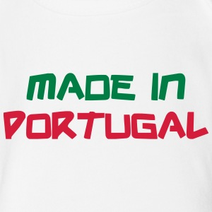Made in Portugal Tee shirts - Body bébé bio manches courtes