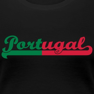 Portugal T-Shirts - Frauen Premium T-Shirt