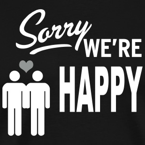 Sorry we are happy - boys T-Shirts - Men's Premium T-Shirt