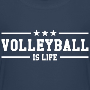 Volleyball is life Shirts - Teenage Premium T-Shirt
