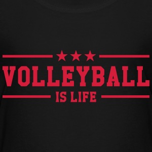 Volleyball is life T-Shirts - Teenager Premium T-Shirt