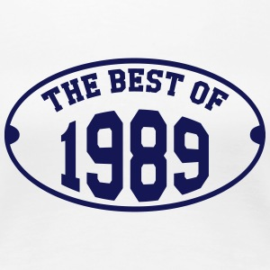 The Best Of 1989 T-shirts - Vrouwen Premium T-shirt